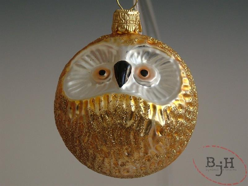 Český výrobce Skleněné vánoční ozdoby zlaté Popis: balení 3 kusů