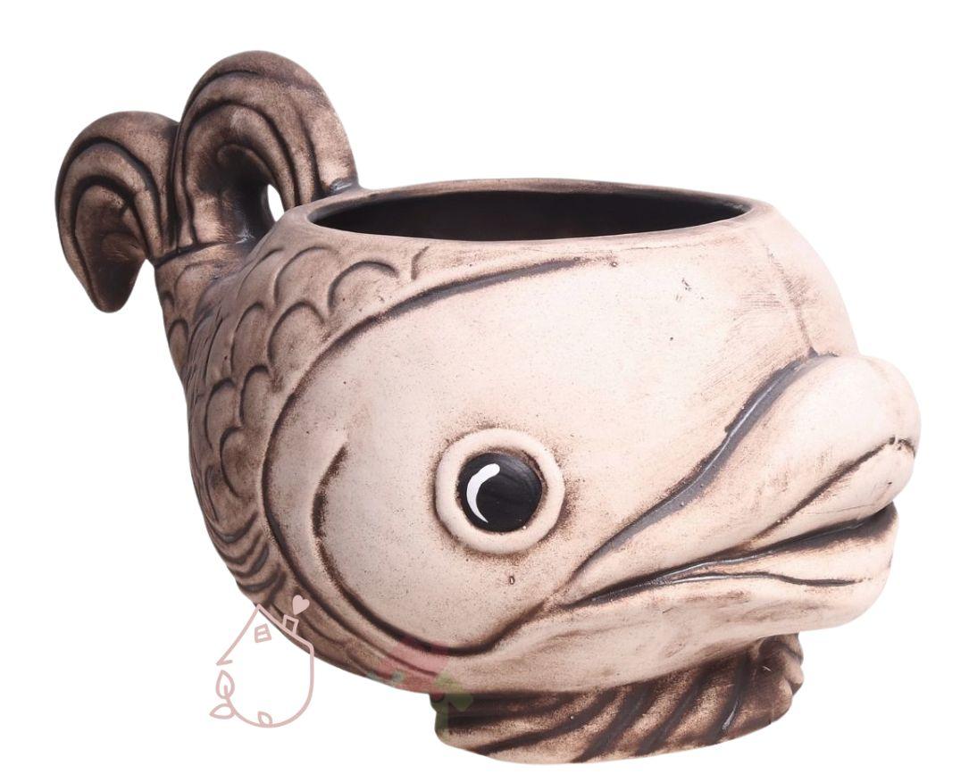 Český výrobce Venkovní květináč ryba velká