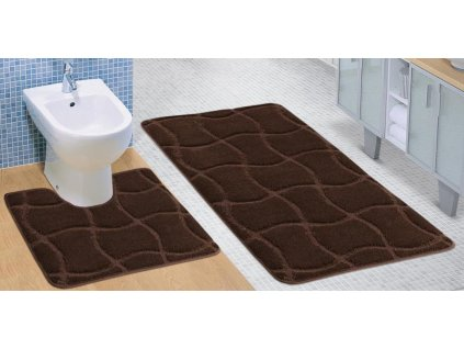 18971 bellatex sada standard 60x100 60x50 cm cokolada hneda