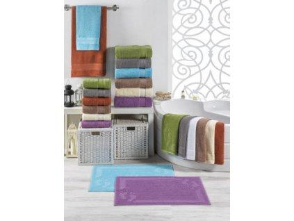 Stanex Froté ručníky a osušky a koupelnové předložky MEXICO Koupelnová předložka 50x70 - MODRÁ