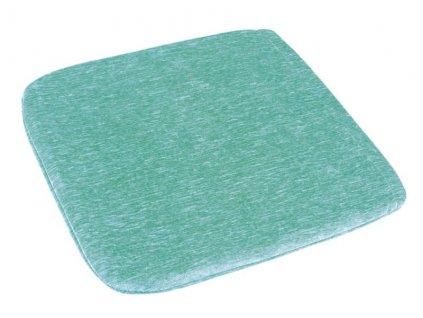 59870 sedak zaneta hladky 38x38 cm zeleny