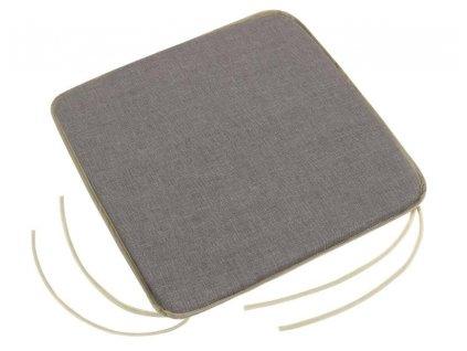 Sedák LADA hladký 40x40 cm šedá Uni