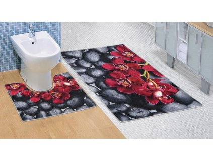 65714 bellatex 3d tisk sada orchidea 60x100 60x50 cm