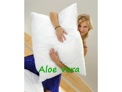 Brotex Polštář Aloe Vera 70x90cm 700g se zipem kuličky STANDARD