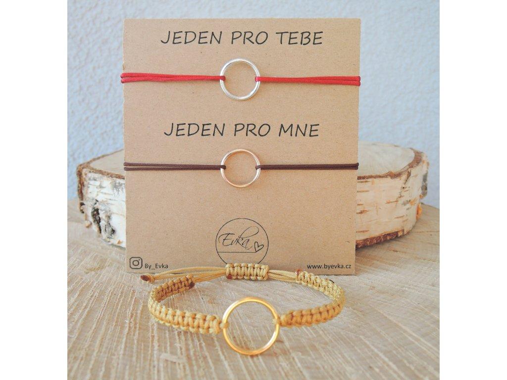 Karmička - kroužek ze stříbra / rose gold / pozlacené stříbro