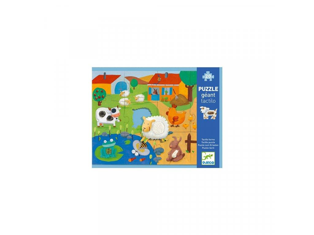 Puzzle hmatové Farma