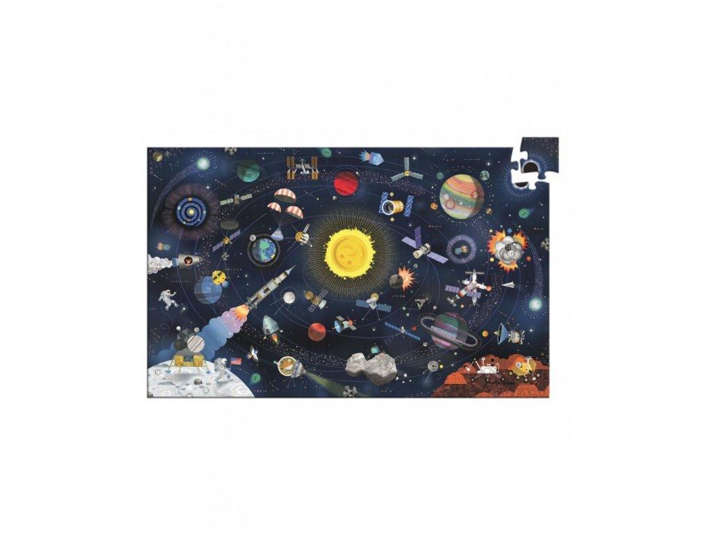 Puzzle Vesmír s popisem