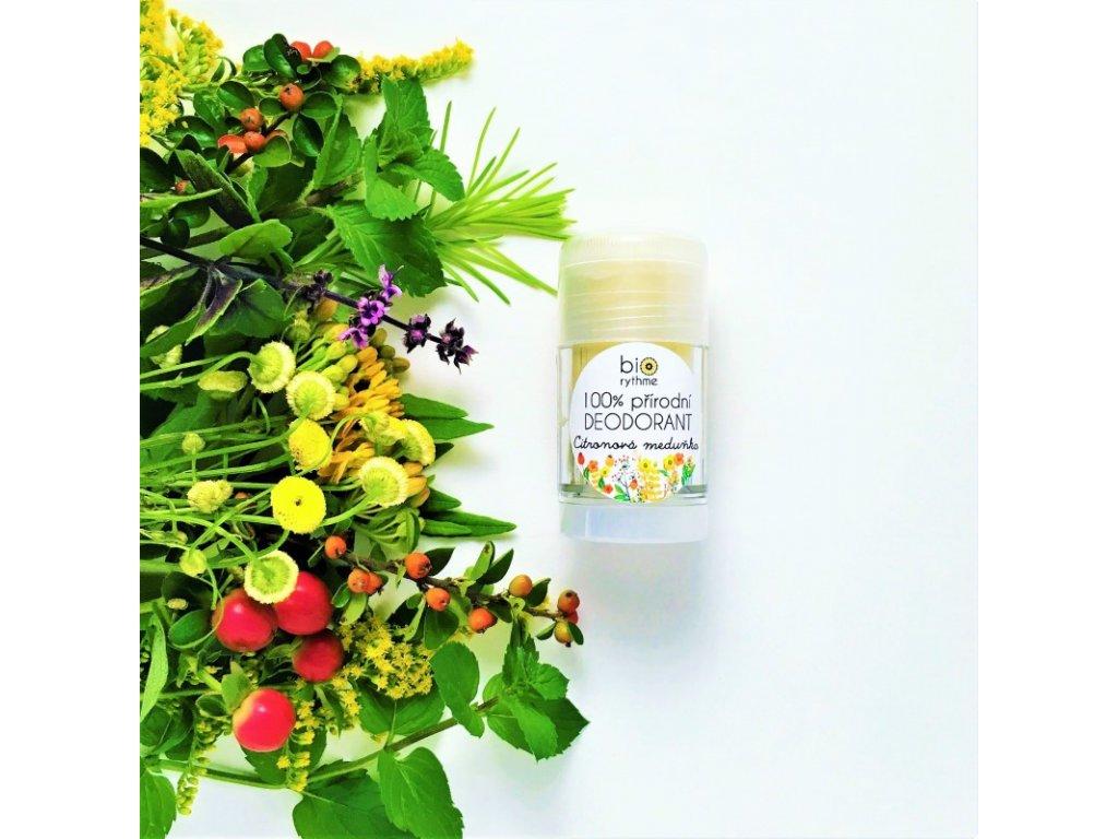 Deodorant Citronová meduňka 30g (plast)