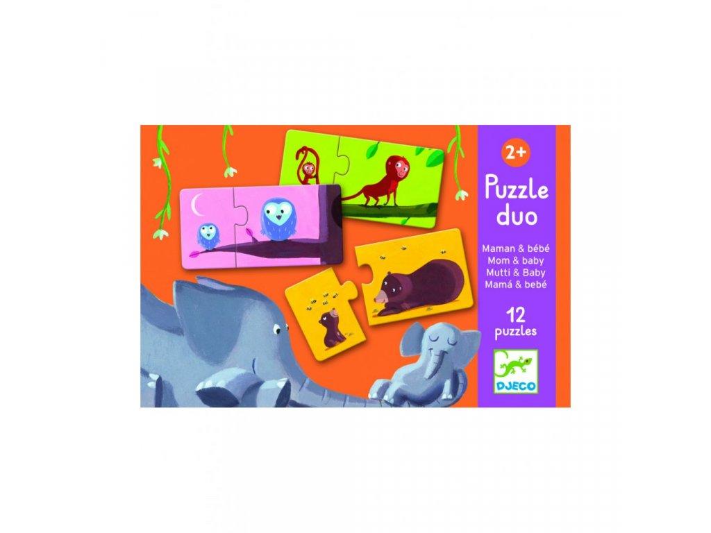 Puzzle duo Najdi mládě