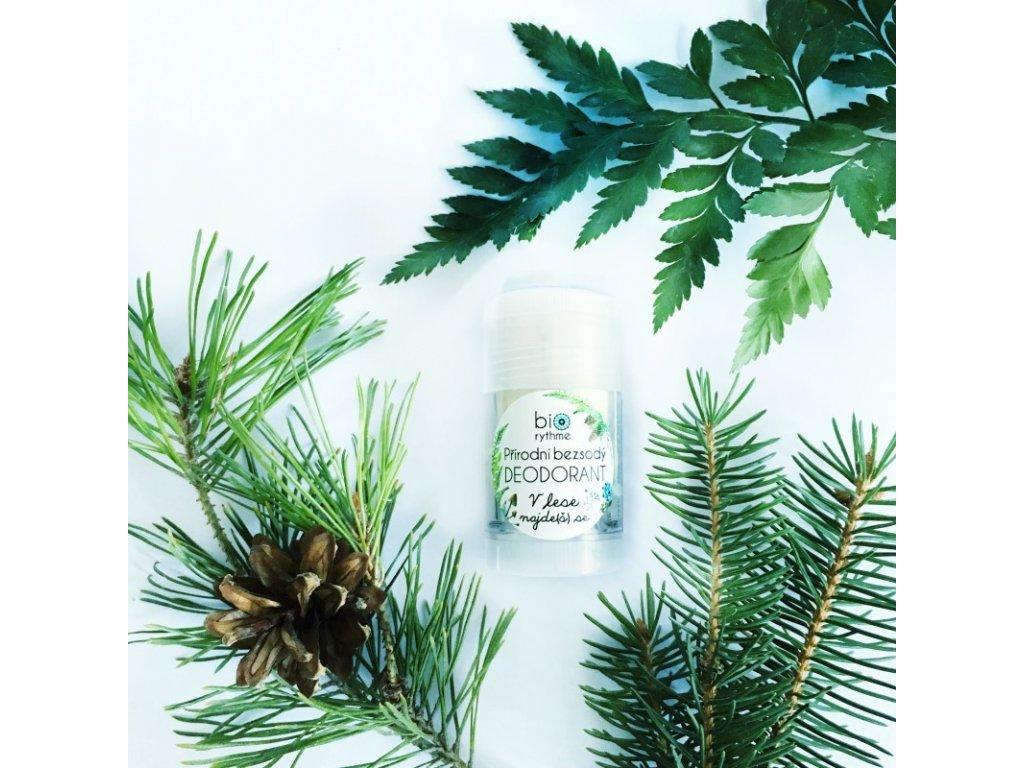 Bezsodý deodorant V lese najde(š) se 30g (plast)