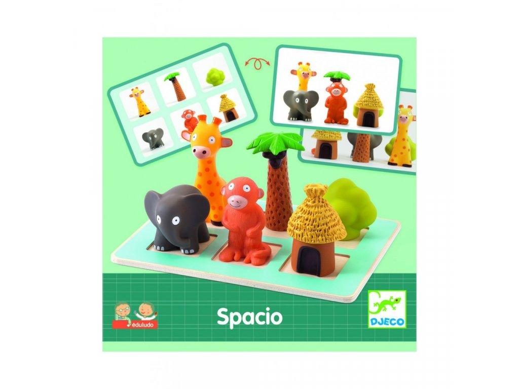 EDULUDO - Spacio - s prostorovými zvířátky