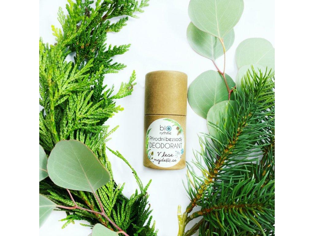 Bezsodý deodorant V lese najde(š) se 35g (papír)
