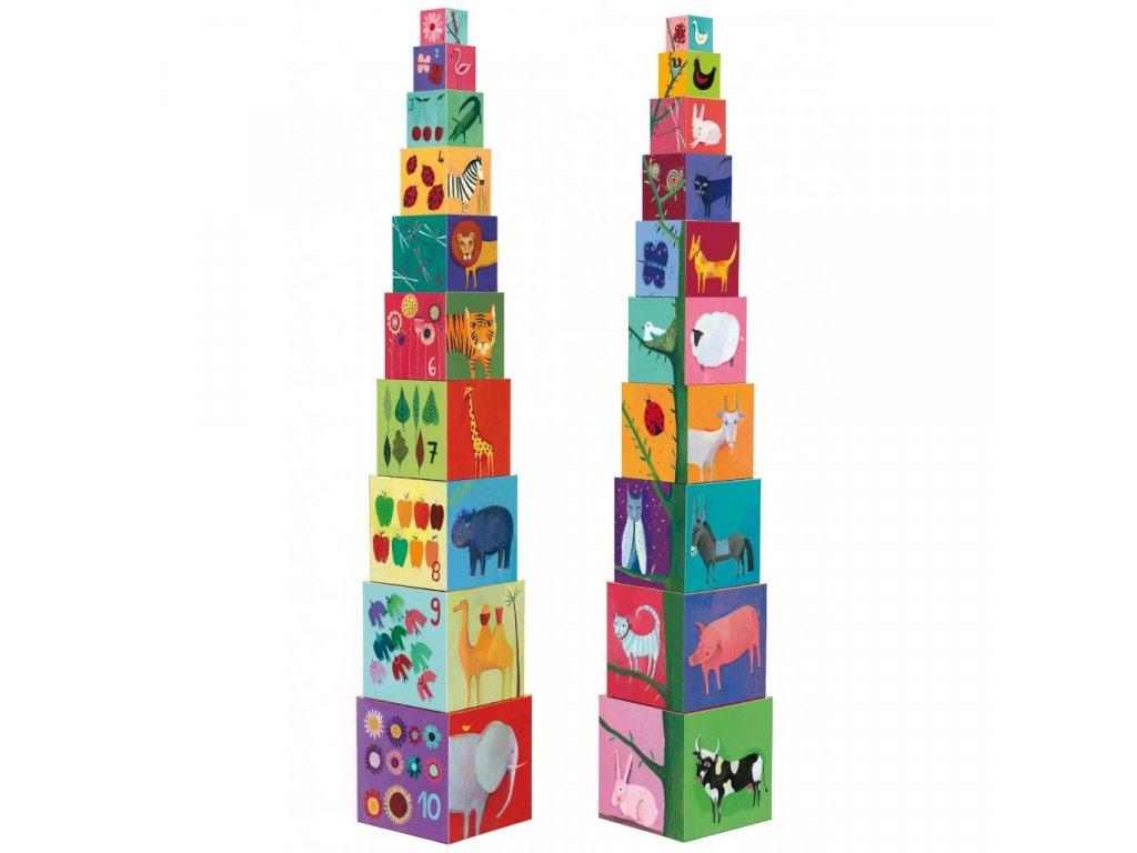 Krabičková věž Příroda a zvířátka