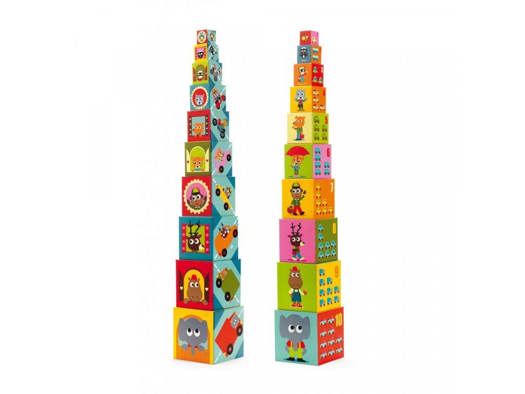 Krabičková věž dopravní prostředky