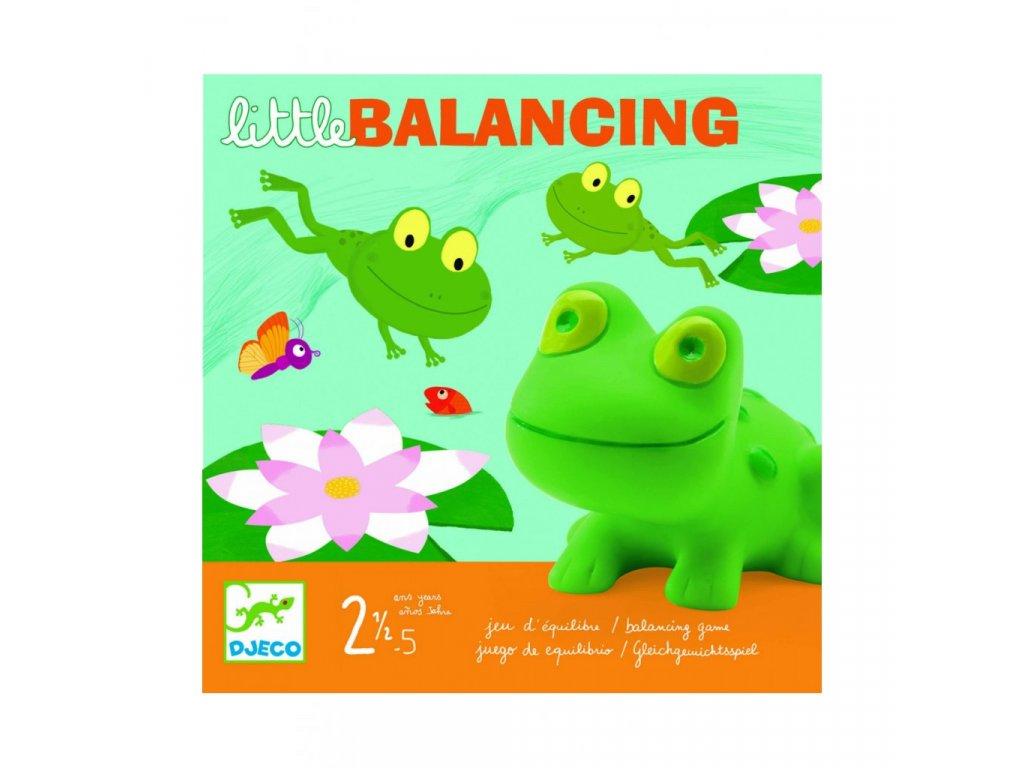 Balanční hra lekníny a žabky