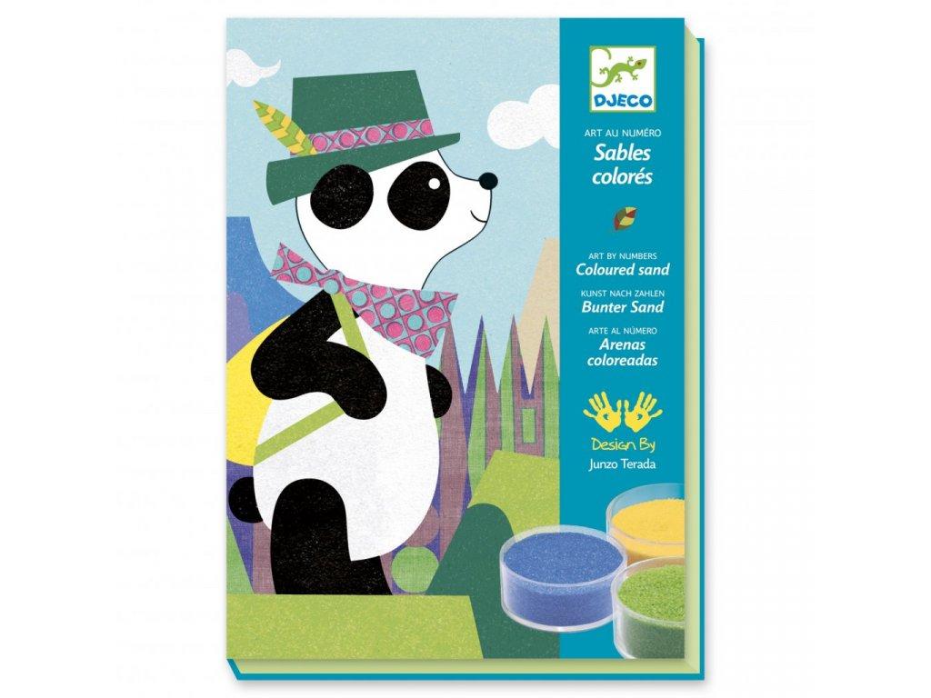 Pískování Panda a kamarádi