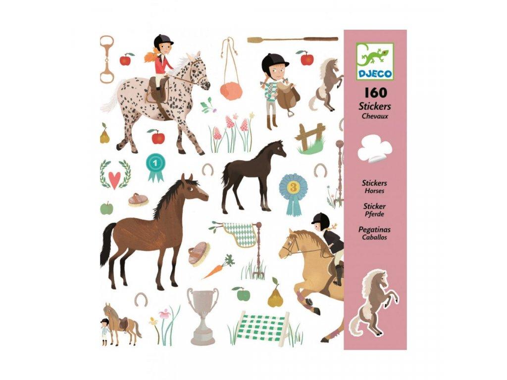 Samolepky Koně