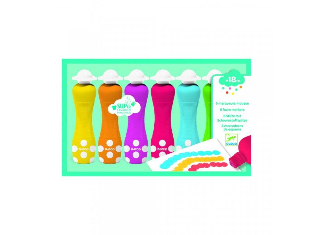 Prstové barvy s aplikátorem