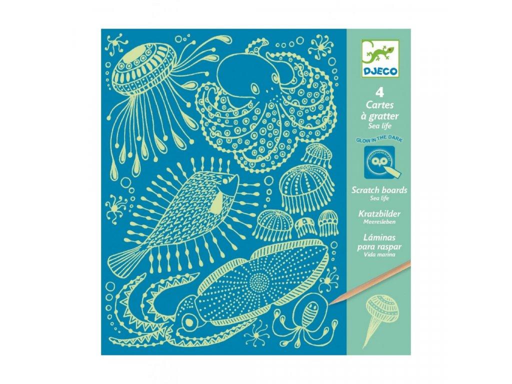 Vyškrabávací obrázky - Mořské mámení