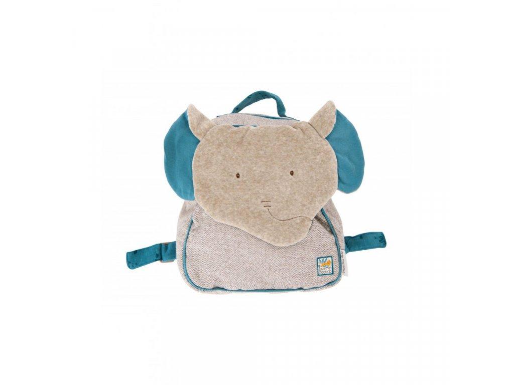 Plyšový batoh Slon