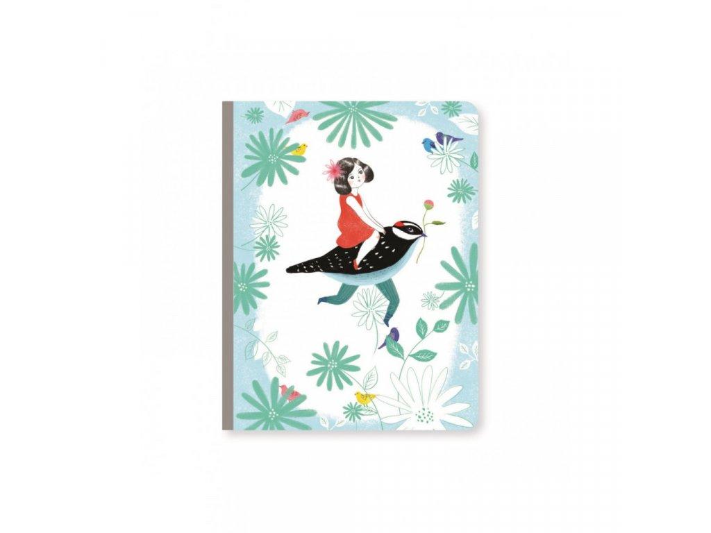 Krásný designový zápisník Chic