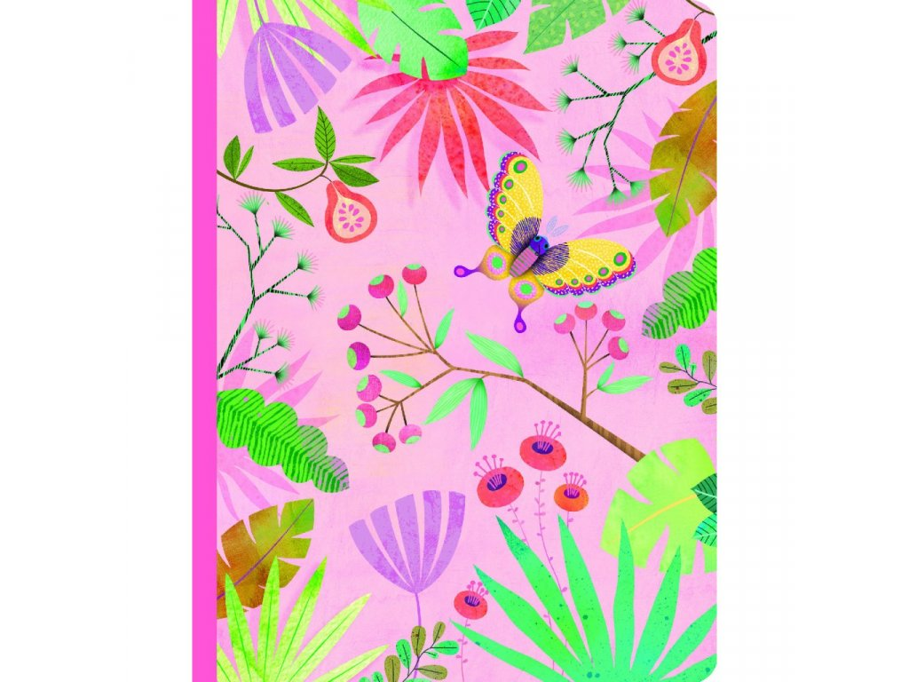 Krásný designový zápisník Marie