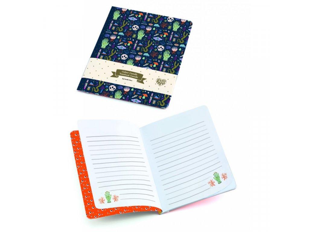 Krásný designový zápisník Camille
