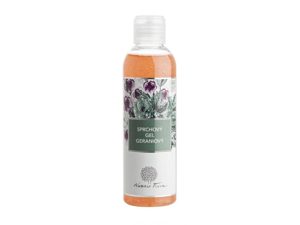 Sprchový gel Geraniový 200 ml