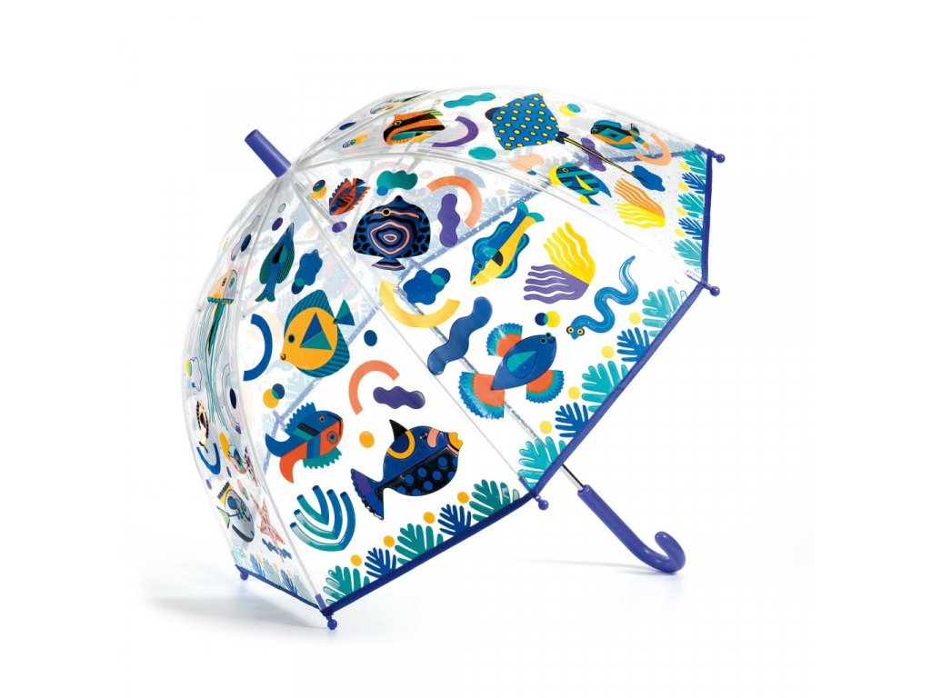 Krásný designový deštník Oceán