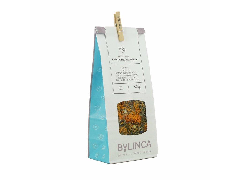 Bylinný čaj Krásné narozeniny 50 g