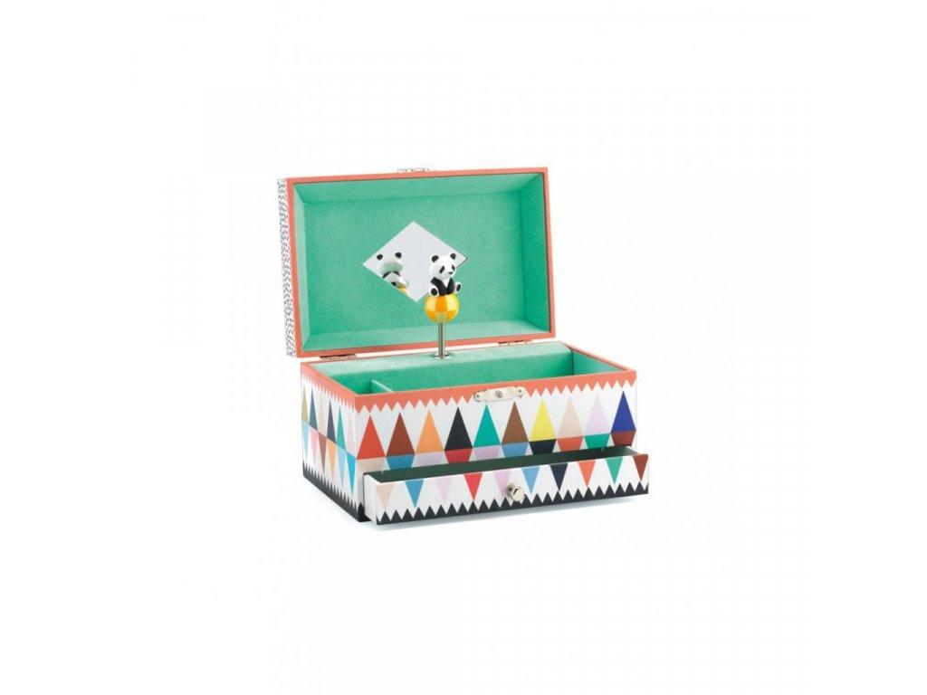 Hrací skříňka Panda