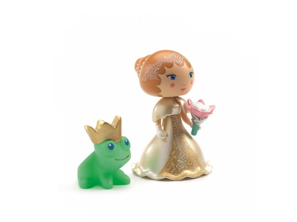 Figurka Bianca a žabák