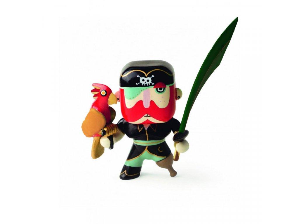 Figurka pirát Sam Parrot
