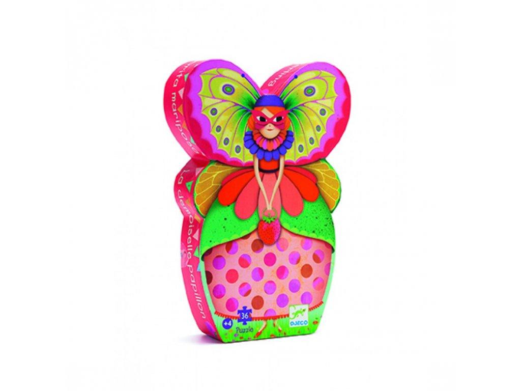 Motýlí dáma - puzzle
