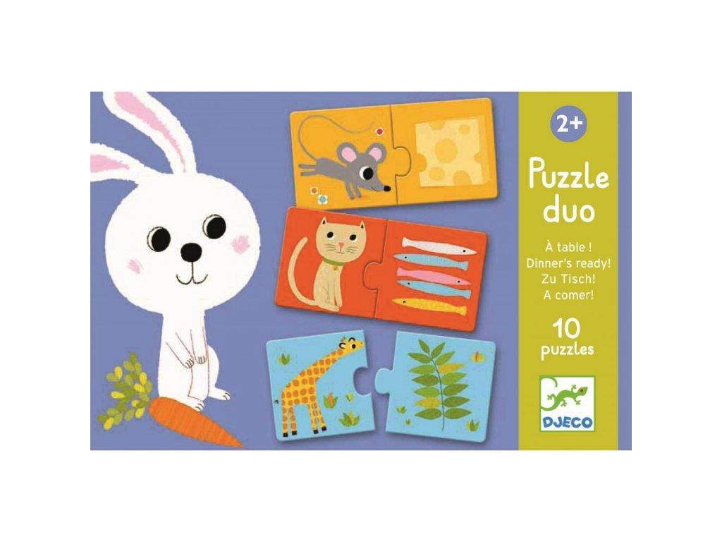 Duo Puzzle Co bude dnes k obědu?