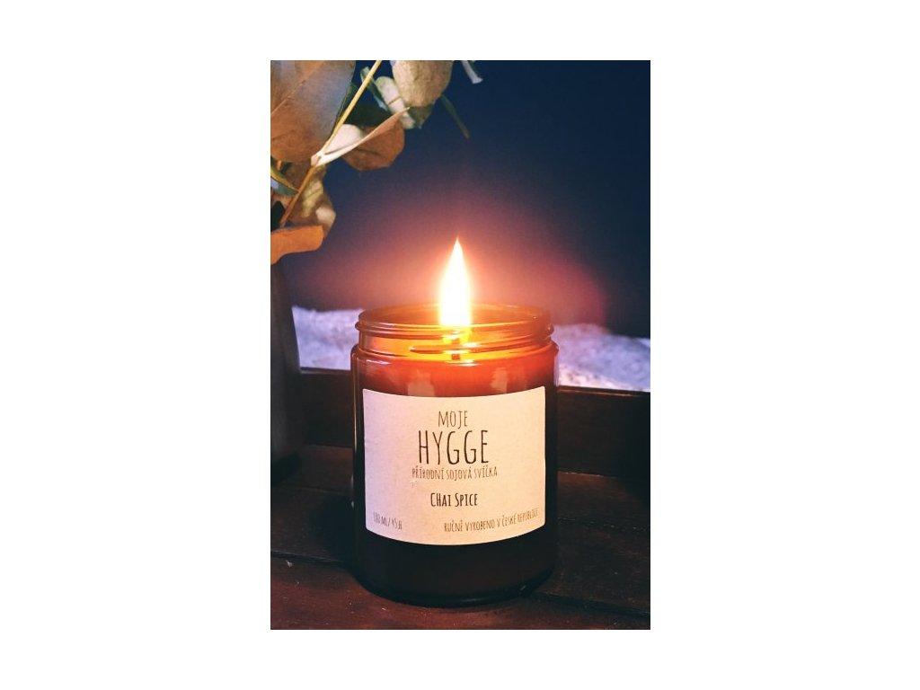 Moje Hygge - Sójová svíčka 180 ml CHAI SPICE