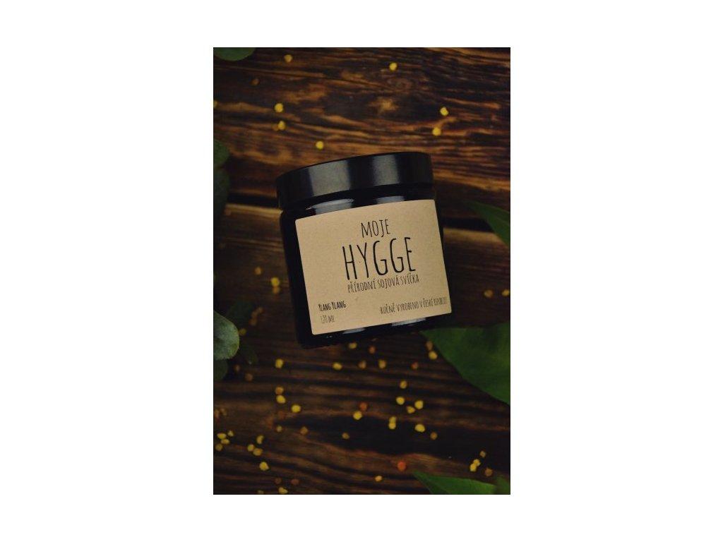 Moje Hygge - Sójová svíčka 180 ml YLANG YLANG