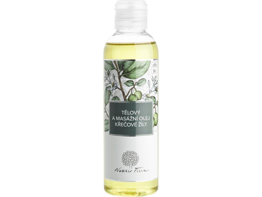 Tělový a masážní olej Křečové žíly 200 ml