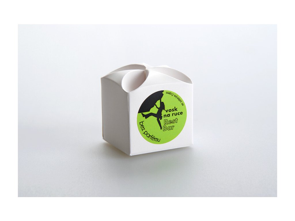Restbar-vosk na ruce BEZ PARFEMACE náhradní 15g (papír.krabička)