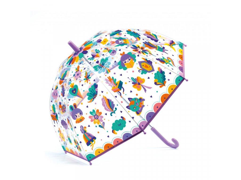 Krásný designový deštník Duha
