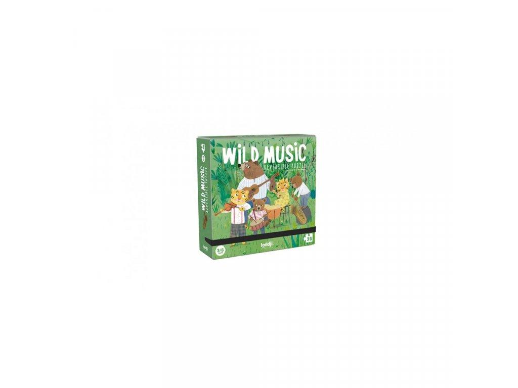 Kapesní puzzle Lesní kapela