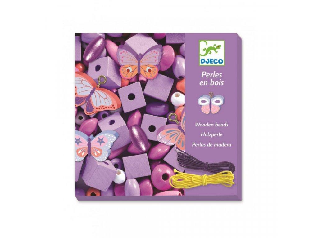 Tvoření šperků-korálky Malý motýlci