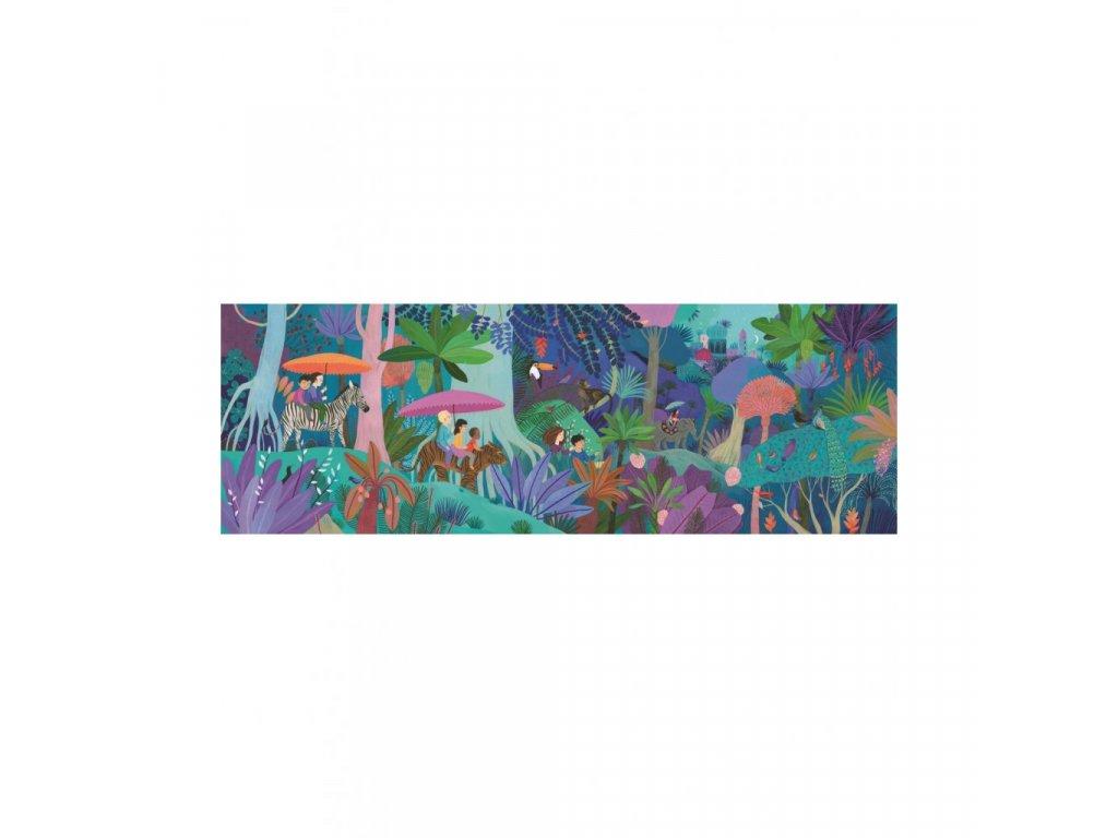 Puzzle - Dětská procházka - 200 dílků