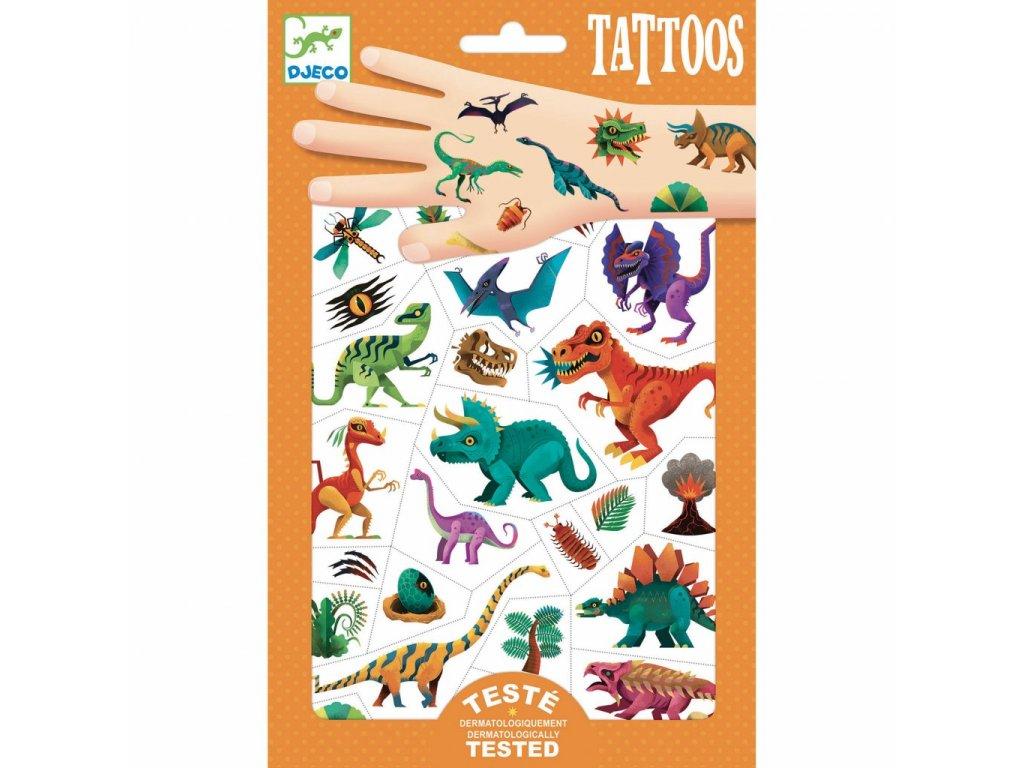 Tetování Svět dinosaurů