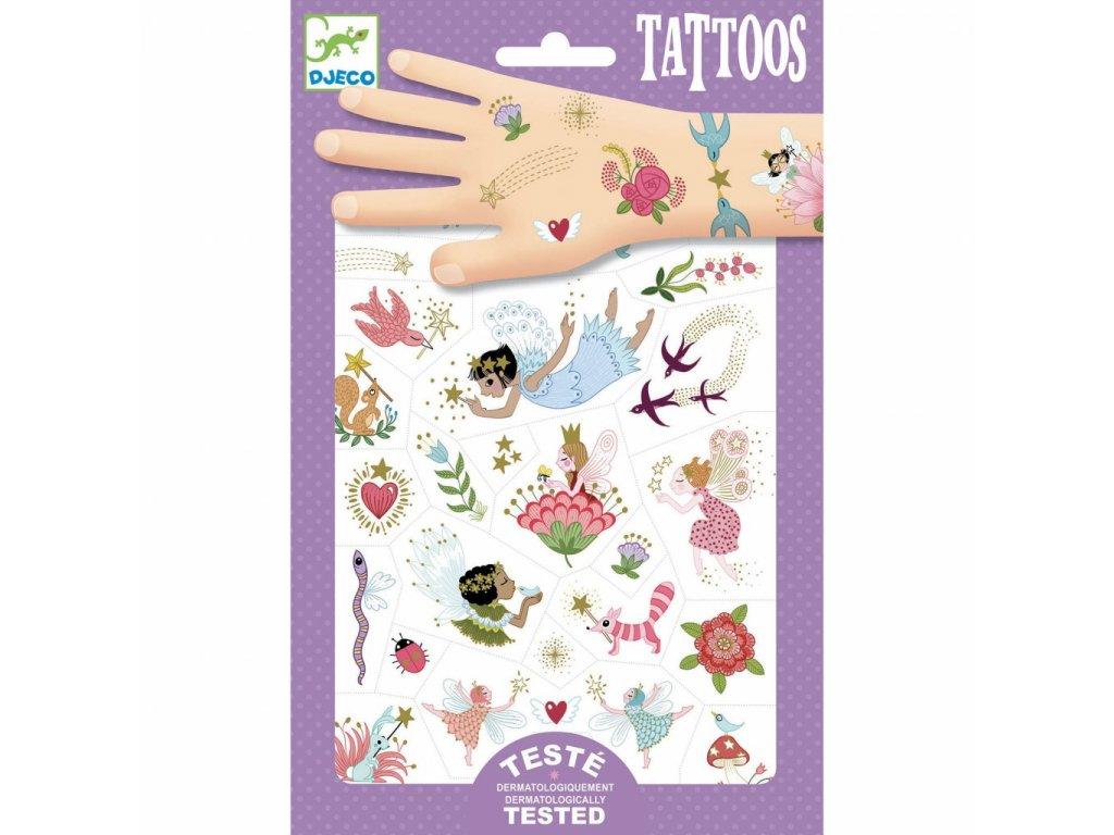 Tetování Víly a přátelé