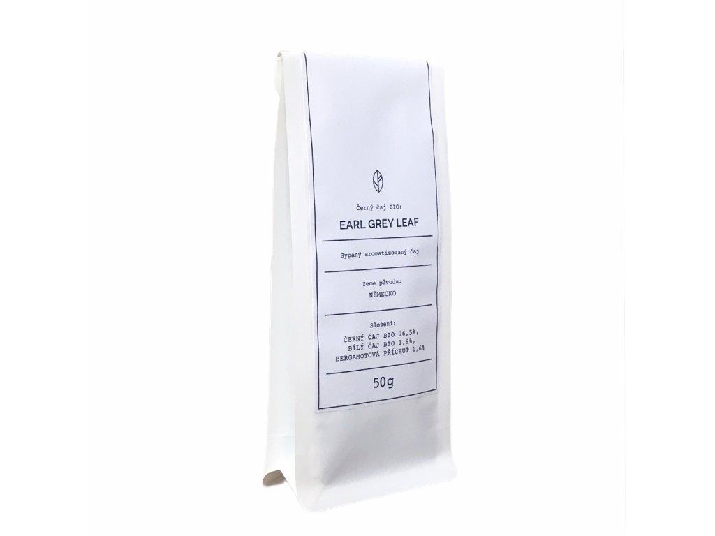 Černý čaj BIO - Earl Grey Leaf Organic Tea 50g