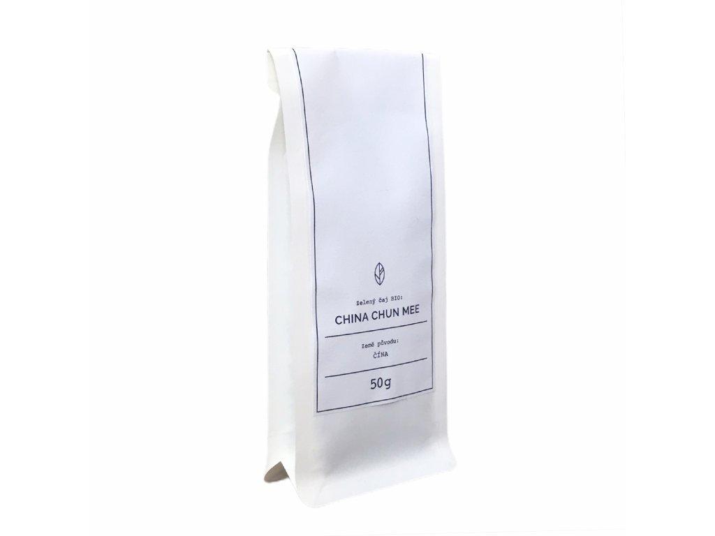 Zelený čaj BIO - China Chun Mee Organic Tea 50g