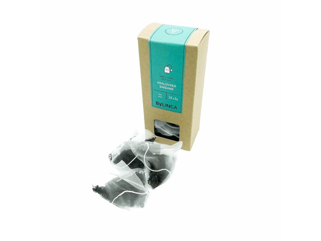 Směs černých čajů BIO-Královská snídaně 15x3g