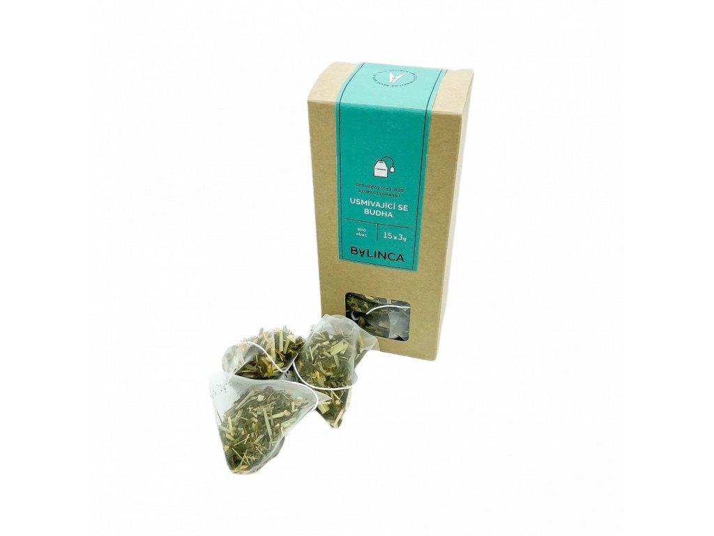 Ochucený čaj BIO - Usmívající se Budha 15x3g