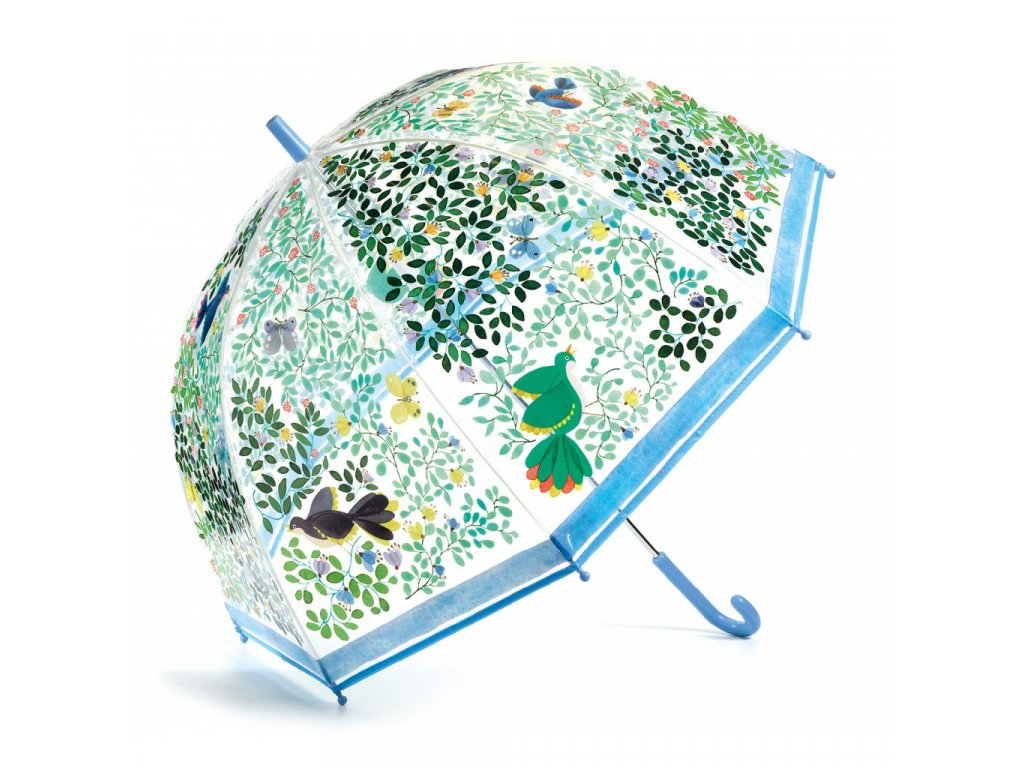 Velký designový deštník - Divocí ptáci